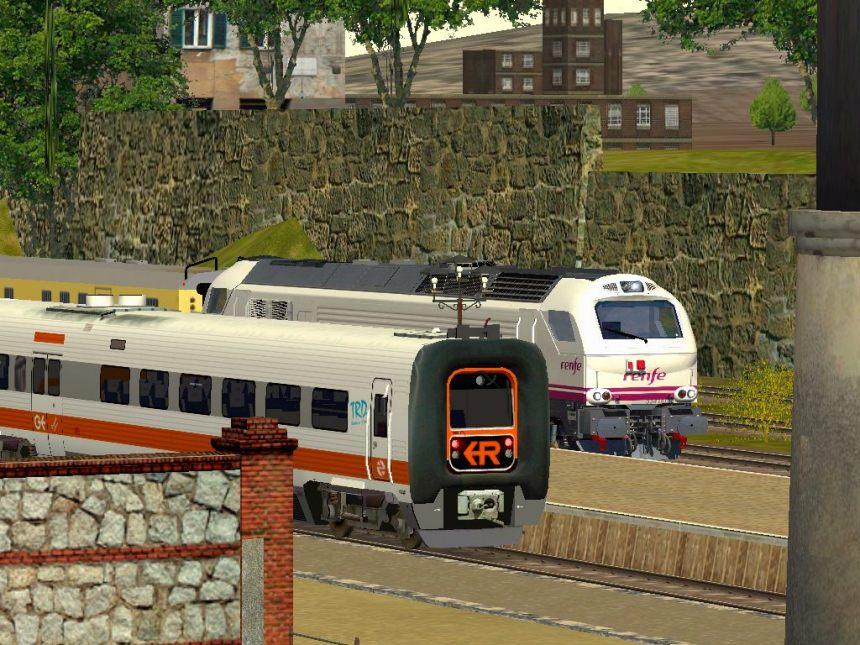 Rail view tren de barcelona a caspe y zaragoza 2014 for Ave zgz madrid