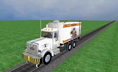 Camión herbicida Peterbilt