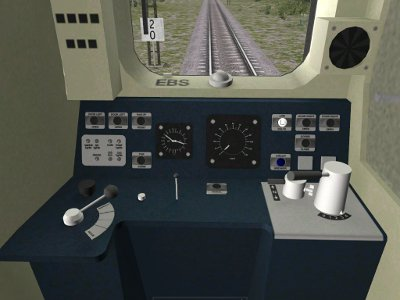 Class 317/1 cabina